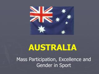 Mass Participation, Excellence and Gender in Sport