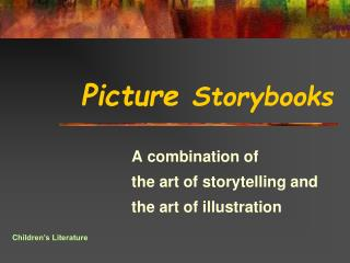 Picture  Storybooks