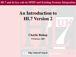 An Introduction to HL7 Version 2