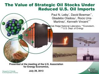 The  Value of Strategic Oil Stocks Under Reduced U.S. Oil  Imports