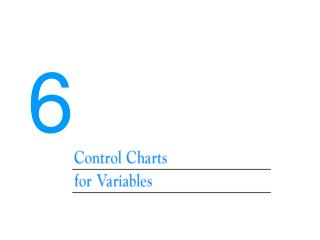 Control chart for variable