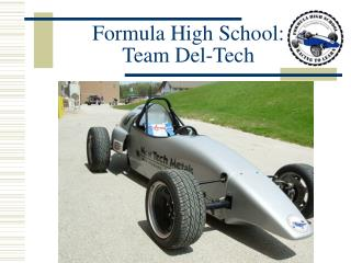 Formula High School: Team Del-Tech
