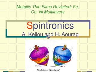 S pintronics A. Kellou and H. Aourag