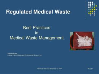Regulated Medical Waste