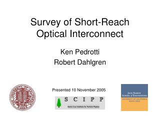 Survey of Short-Reach Optical Interconnect