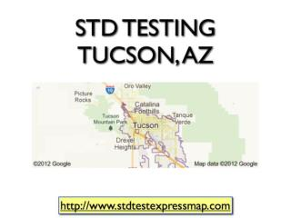 STD Testing Tucson