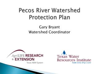 Pecos River Watershed Protection Plan