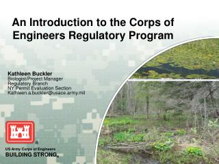 An Introduction to the Corps of Engineers Regulatory Program