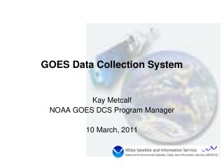 GOES Data Collection System