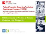 Poland Financial Reporting Technical Assistance Program FRTAP