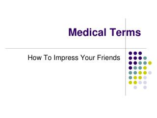 Medical Terms
