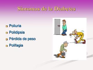 PPT - Síntomas de la Diabetes PowerPoint Presentation - ID
