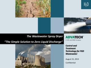Control and Treatment Technology for FGD Wastewater August 15, 2013 Confidential