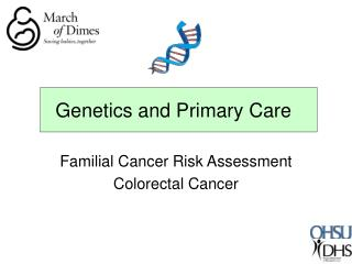Genetics and Primary Care