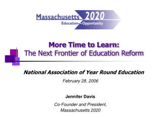 More Time to Learn: The Next Frontier of Education Reform