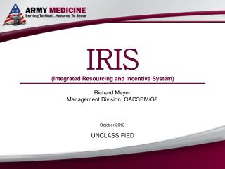 IRIS (Integrated Resourcing and Incentive System)