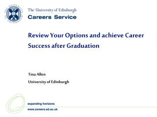 Review Your Options and achieve Career Success after Graduation