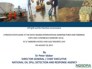 Oil Spill and the Maritime environment