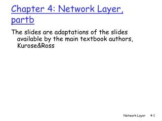Chapter 4: Network Layer, partb