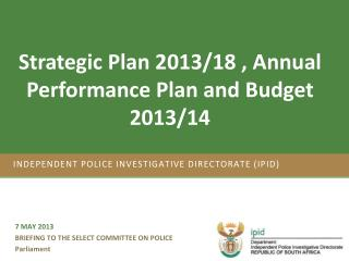 Independent Police Investigative Directorate (IPID)