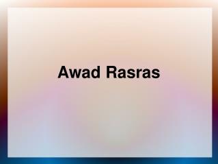 Awad Rasras is a Member of Statistical Organization Of Ameri