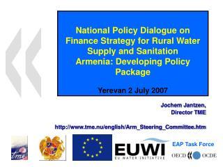 Jochem Jantzen, Director TME tme.nu/english/Arm_Steering_Committee.htm