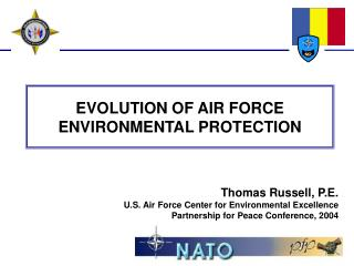 EVOLUTION OF AIR FORCE ENVIRONMENTAL PROTECTION