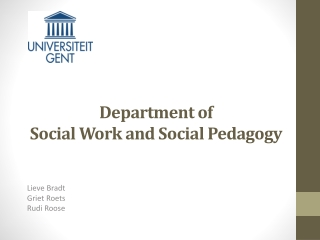 Social Work  Sustainable Development
