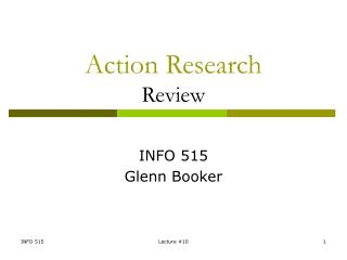 Action Research Review