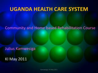 define community based rehabilitation