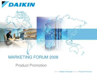 MARKETING FORUM 2008