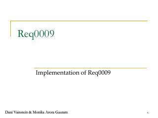 Req0009
