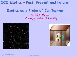 Exotics as a Probe of Confinement