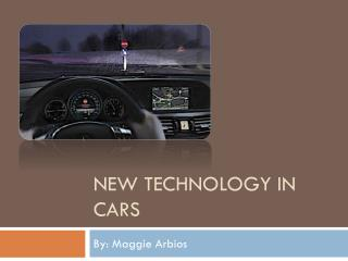 New Technology In Cars