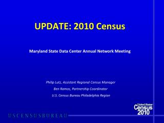 UPDATE: 2010 Census