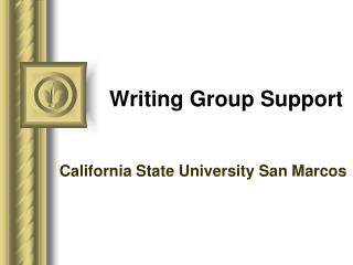 Writing Group Support