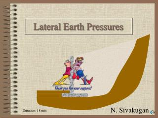 Lateral Earth Pressures