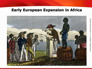 Early European Expansion in Africa