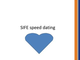 SIFE speed dating