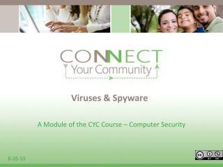 Viruses  Spyware