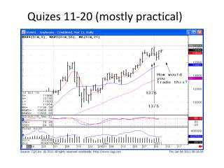 Quizes  11-20 (mostly practical)