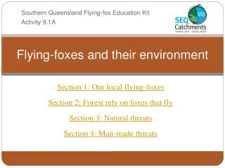 Flying-foxes and their environment