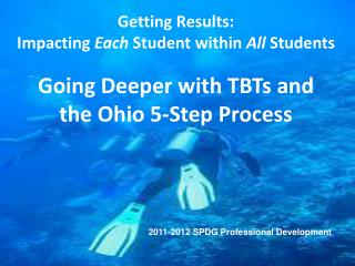 Going Deeper with TBTs and the Ohio 5-Step Process