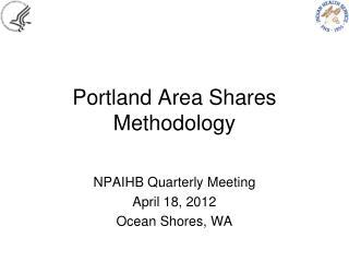 Portland Area Shares Methodology