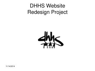 DHHS Website  Redesign Project