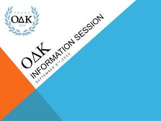 ODK Information session