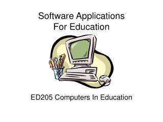 Software Applications For Education