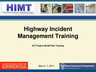 Highway Incident Management Training