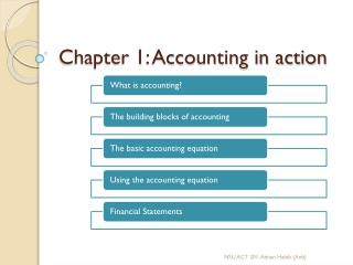 Chapter 1: Accounting in action