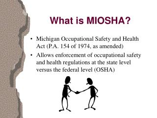 What is MIOSHA?